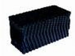 Honingraat blok 120x30x30cm zwart
