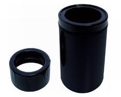 Drijvende Buis skimmer zwart 160-110mm