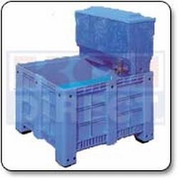 Visbak 600 liter + opzetfilter 220 liter